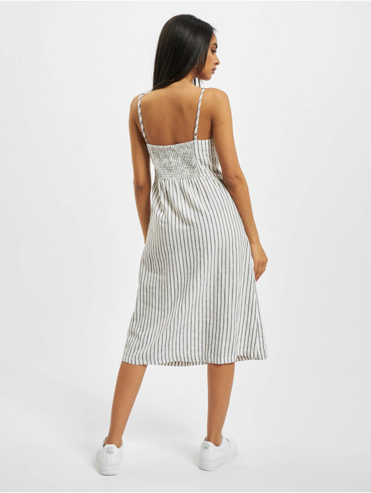 Only Dress onlLuna Strap Stripe Denim white
