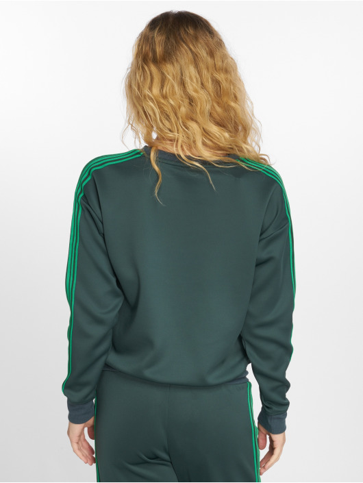 Only Gensre L/s O-Neck grøn
