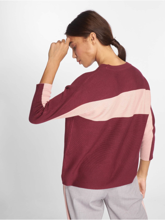 Only Gensre onlChia 3/4 Knit red