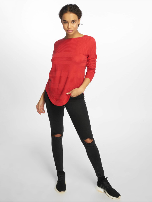 Only Gensre onlCaviar Noos Knit red
