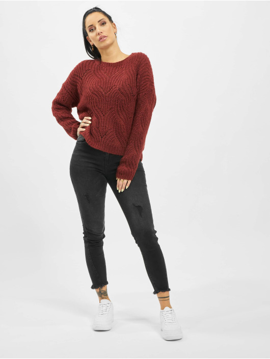 Only Gensre onlHavana Knit NOOS red