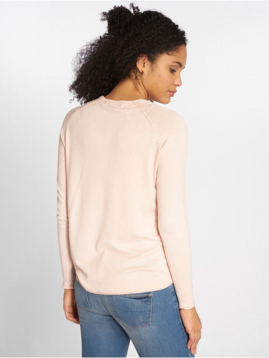 Only Gensre onlMila Lacy Knit rosa