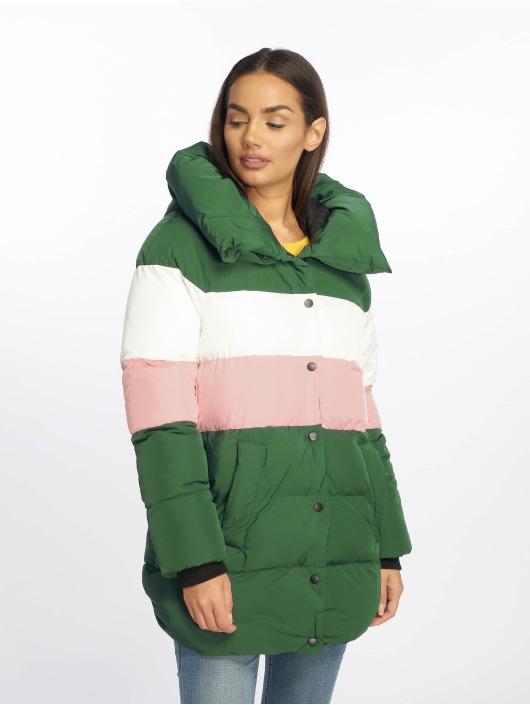 Only Gewatteerde jassen onlMari Blocked Padded groen