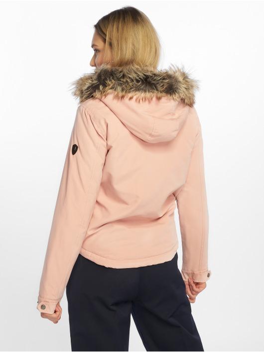 Only Giacca invernale Skylar rosa chiaro