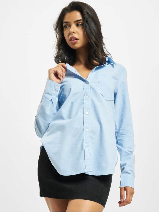 Only Hemd onlHally Life Oxford Denim blau
