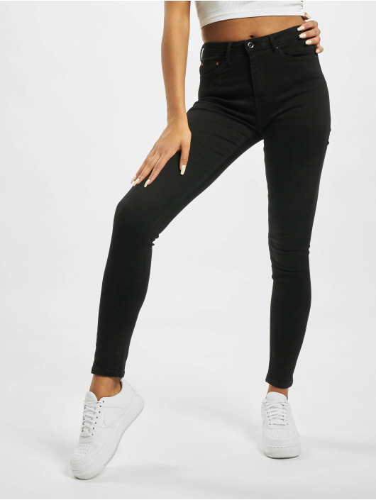 Only High Waisted Jeans onlPaola NOS AZG 132907 High Waist čern
