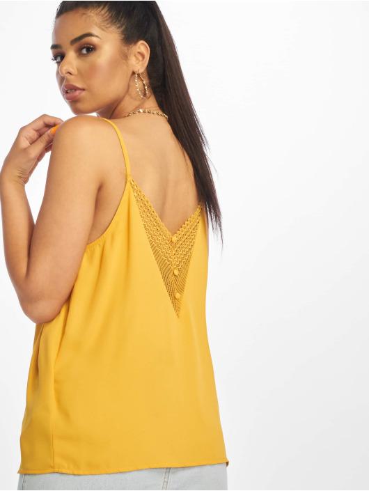 Only Hihattomat paidat onlSiva keltainen