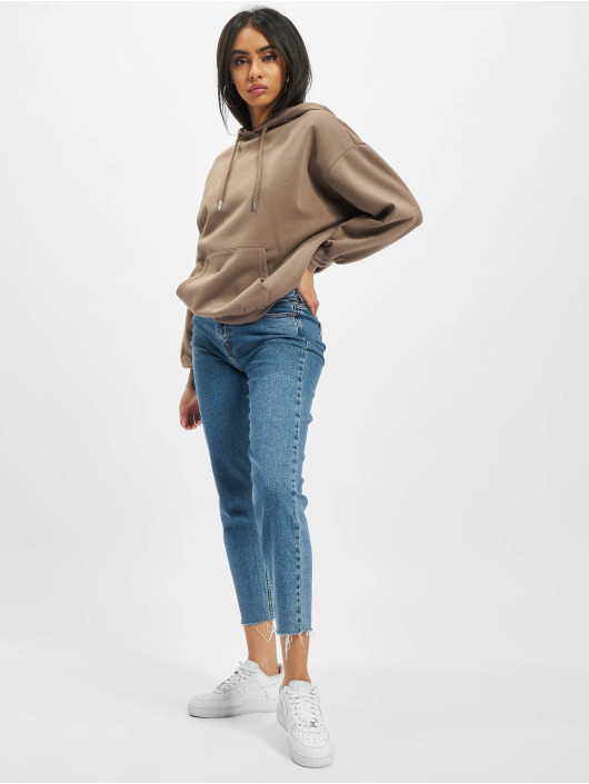 Only Hoodie Sonoma Life Oversized brun