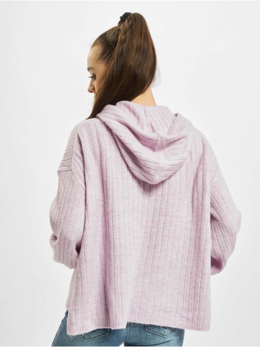 Only Hoodie onlCorinne Loose Knit purple