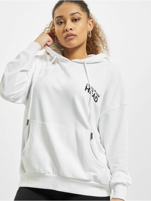 Only Hoodie onlTenna Life Oversize white