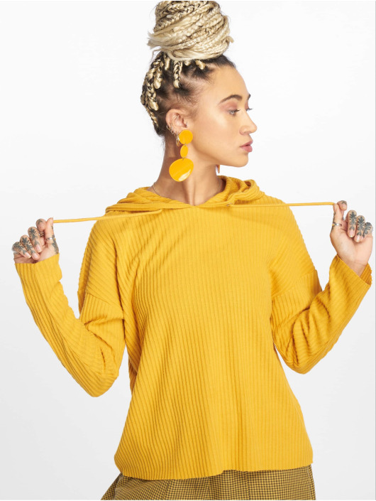 Only Hoodie onlBank yellow
