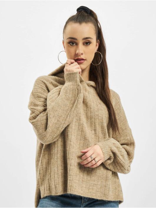 Only Hoodies onlCorinne Loose brun