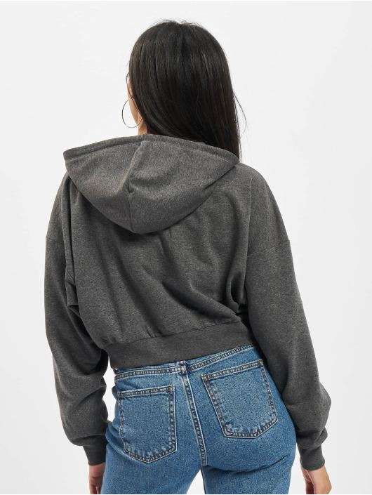 Only Hoodies con zip Onlbless grigio