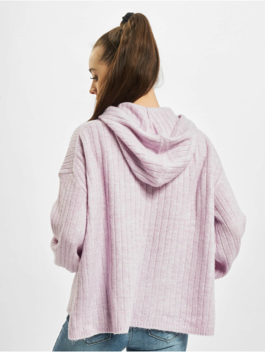 Only Hoody onlCorinne Loose Knit violet