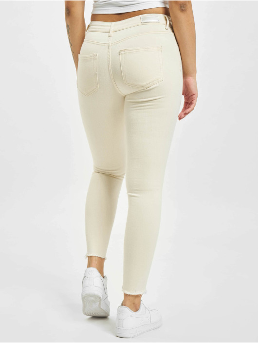 Only Jean skinny onlBlush Mid Ankle Raw BB DOT019 beige