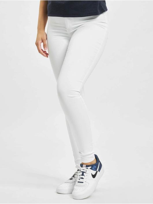 Only Jean skinny onlRoyal Life High Waist Noos blanc