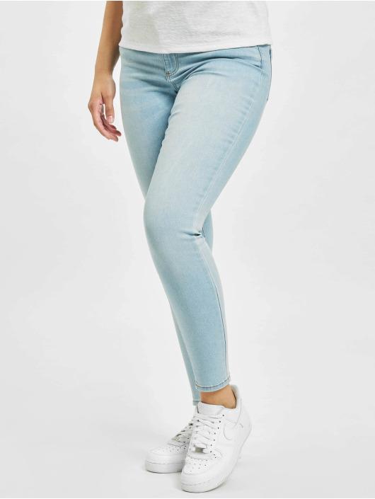Only Jean skinny onlWauw Life Mid BB BJ693 bleu
