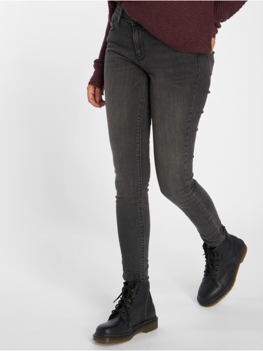 Only Jean skinny onlCarmen Regular gris