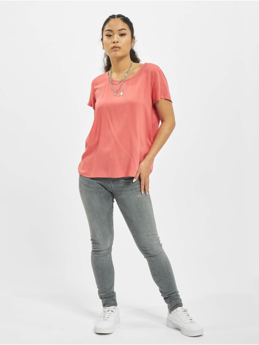 Only Jean skinny onlPaola Life High Waist Noos gris
