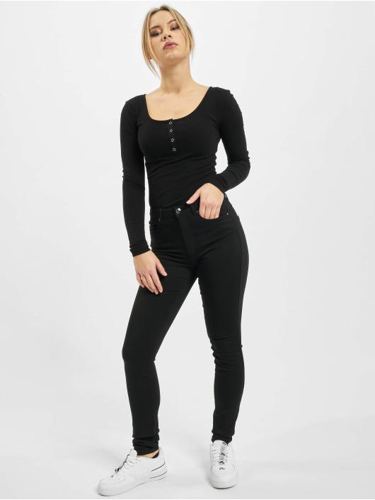 Only Jean skinny onlForever Life High Waist Noos noir