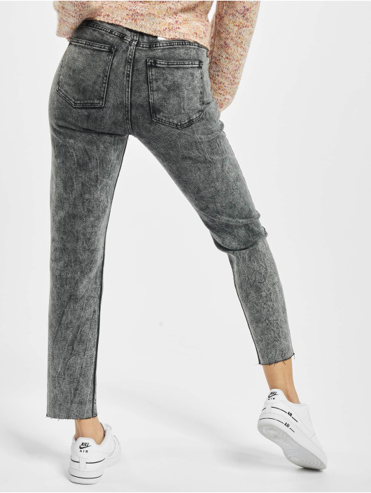 Only Jeans Maman onlWild Emily High Waist Acid Ankle gris