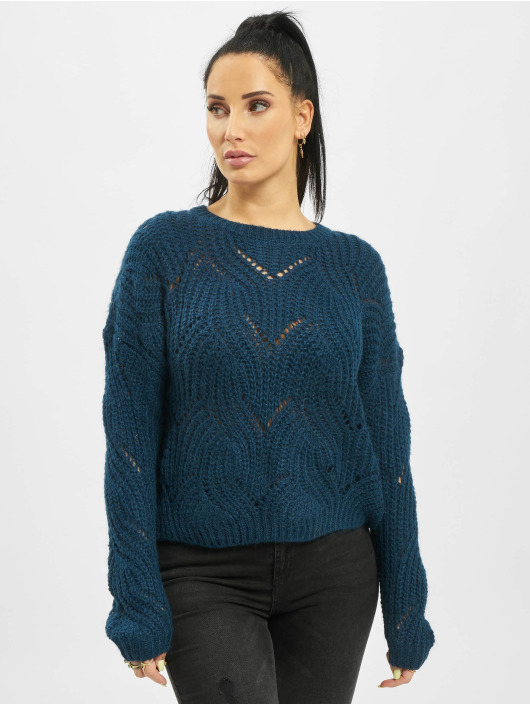Only Jumper onlHavana Knit NOOS blue