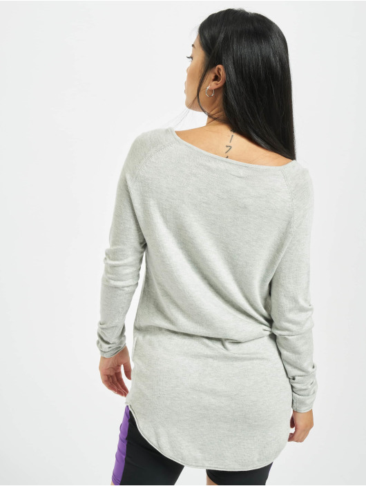 Only Jumper onlMila Lacy Long grey