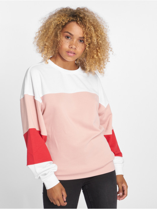 Only Jumper onlGigi Color Block rose