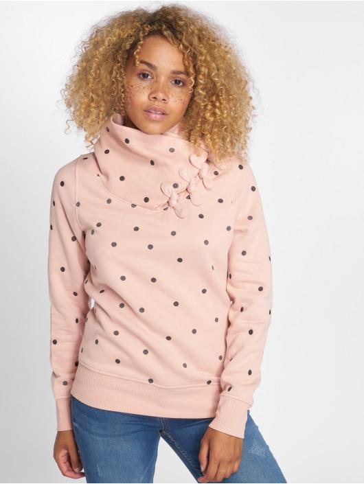 Only Jumper onlLisa Bow Highneck Sweatshirt rose