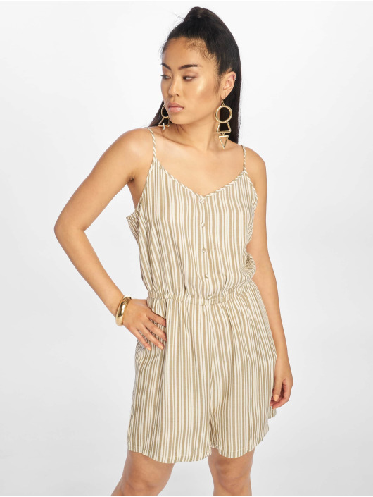 Only Jumpsuit onlShine Playsuit weiß