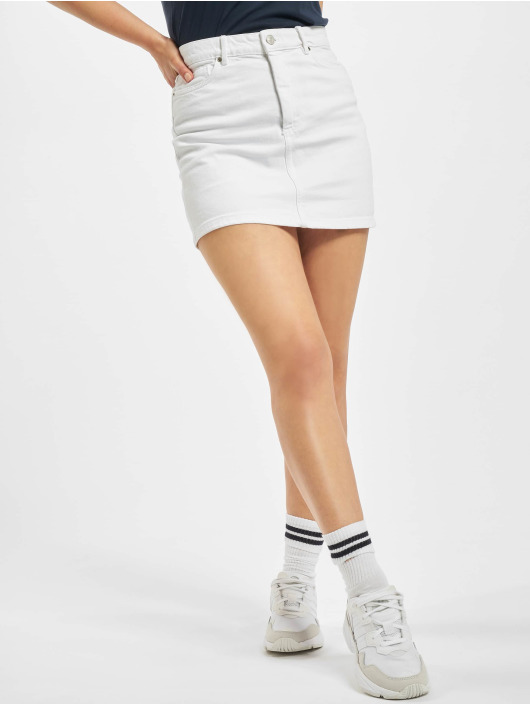 Only Jupe onlRose A-Shape Color blanc