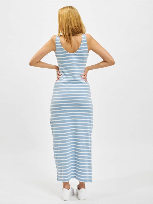 Only jurk onlMay Life S/L V-Neck blauw