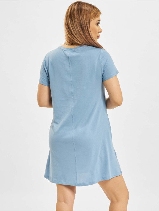 Only jurk onlMay Life Shortsleeve Pocket blauw