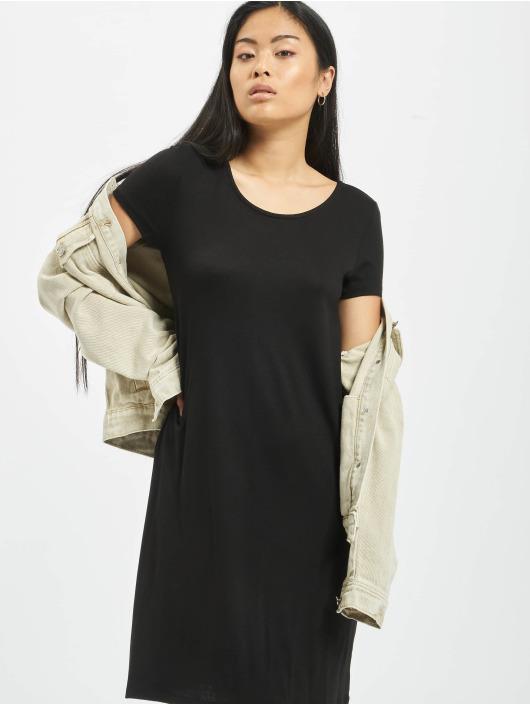 Only Onlbera Back Lace Up Dress Black
