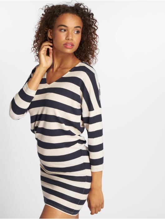 Only Kleid onlMaye 3/4 V-Neck blau