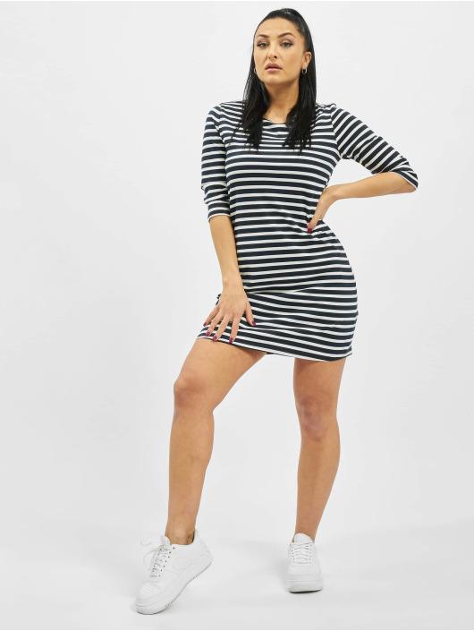 Only Kleid onlBrilliant NOS 3/4 Striped Jersey blau