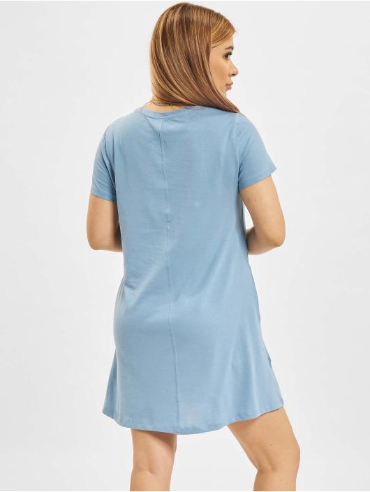 Only Kleid onlMay Life Shortsleeve Pocket blau