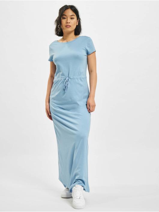 Only Kleid onlMay Life Shortsleeve String blau