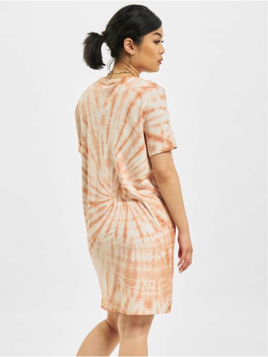 Only Kleid Onlsmiley Life Tie Dye JRS braun