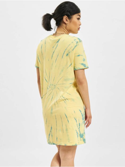 Only Kleid Life Tie Dye JRS gelb