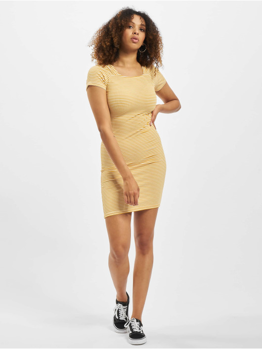 Only Kleid onlFiona Life Jersey goldfarben