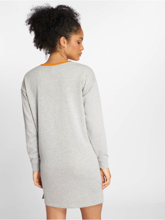 Only Kleid onlGigi Block Sweat grau