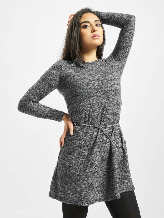 Only Kleid onlBilla Jersey grau