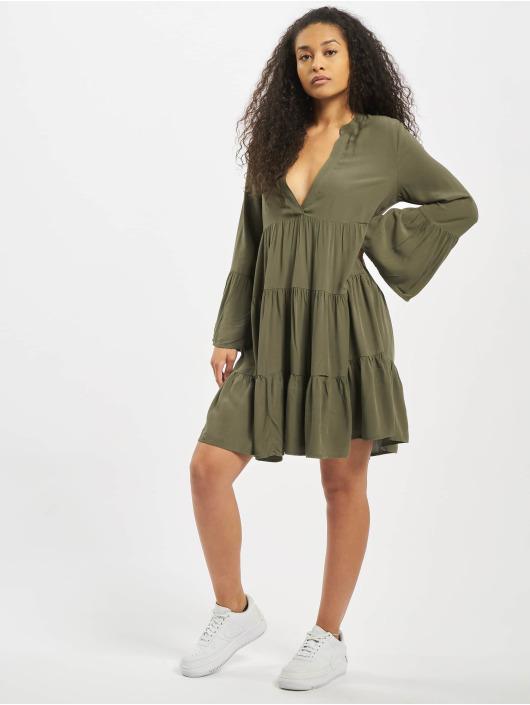 Only Kleid onlNancy Athena olive