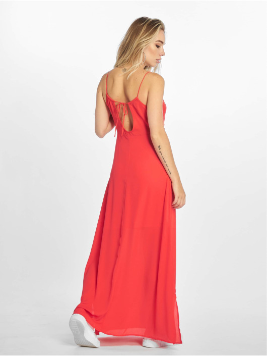 Only Kleid onlCana Strap Open Back rot