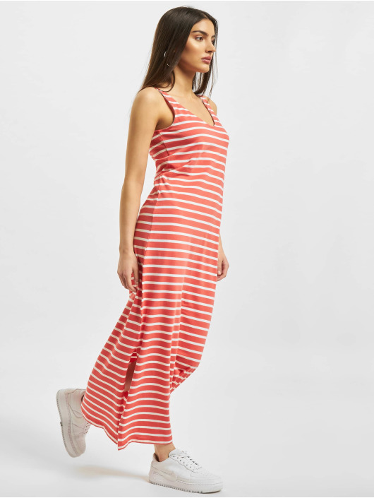 Only Kleid onlMay Life S/L V-Neck rot