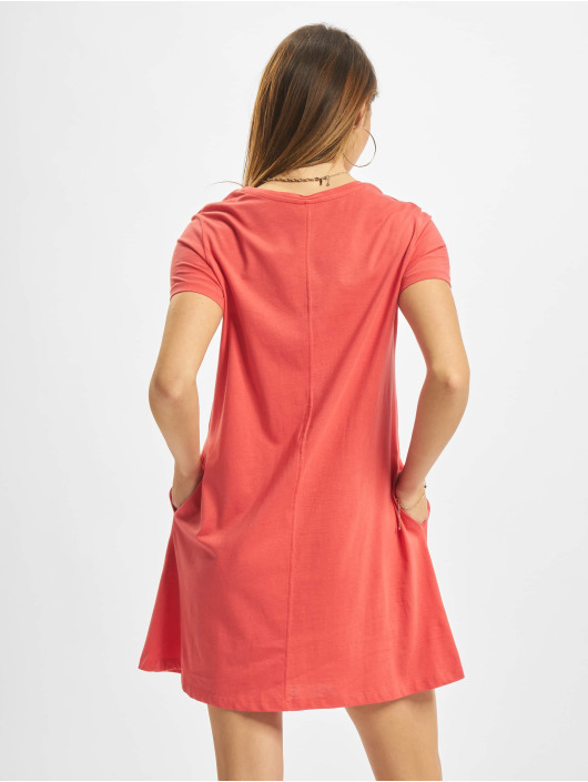 Only Kleid onlMay Life Shortsleeve Pocket rot