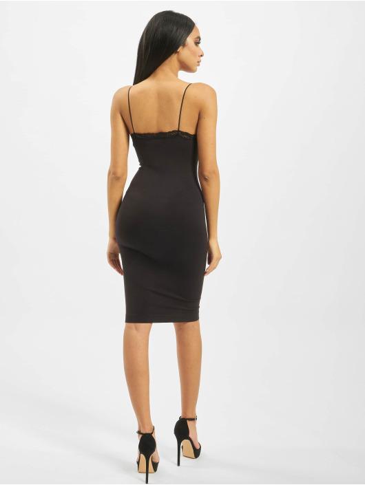 Only Kleid onlVicky Lace Seamless Basic Long schwarz