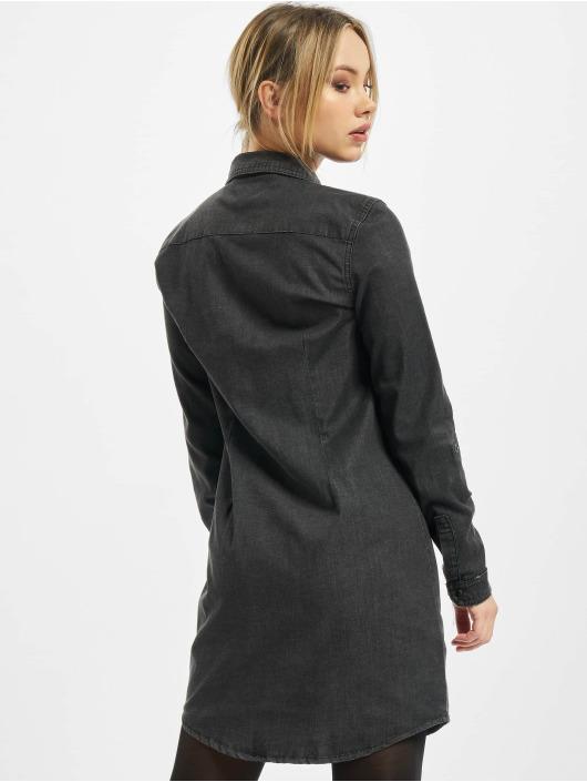 Only Kleid onlVic Life Denim schwarz