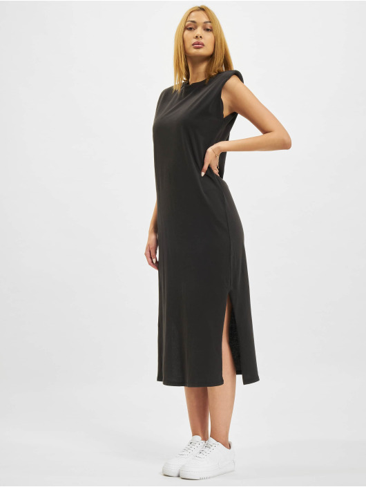 Only Kleid onlSilla Life Shoulderpad schwarz